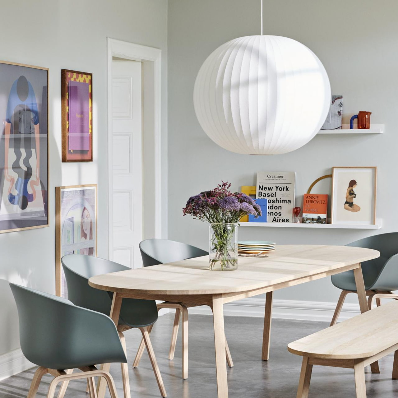 Nelson Bubble Pendant Lamps By George Nelson For Herman Miller Aetava